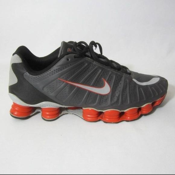 huge discount ead52 58e4b ... promo code nike shox tlx mens 12 gray orange athletic shoes 5fff2 a650a